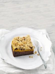 Brownies alla zucca e cacao