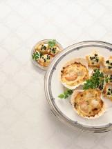 capesante gratinate alle mandorle Sale&Pepe ricetta