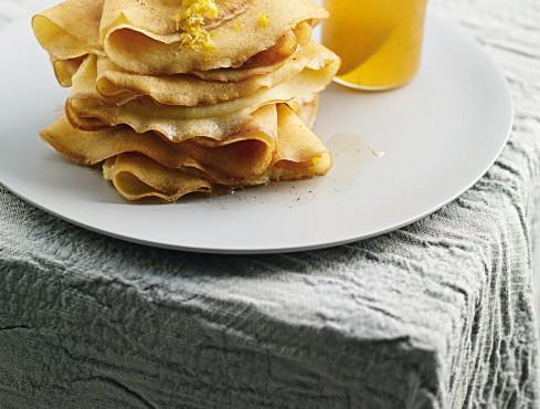 crêpe di riso al miele e limone Sale&Pepe ricetta