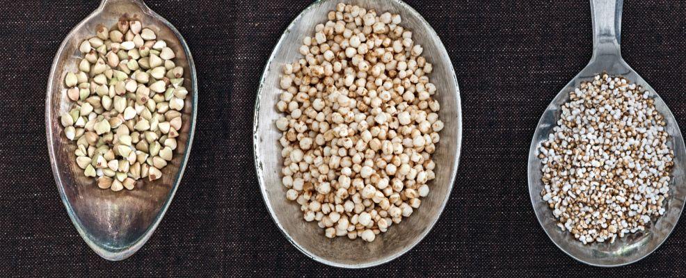 quinoa amaranto grano saraceno