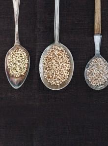 Quinoa, amaranto e grano saraceno: le proprietà e i consigli per cucinarli