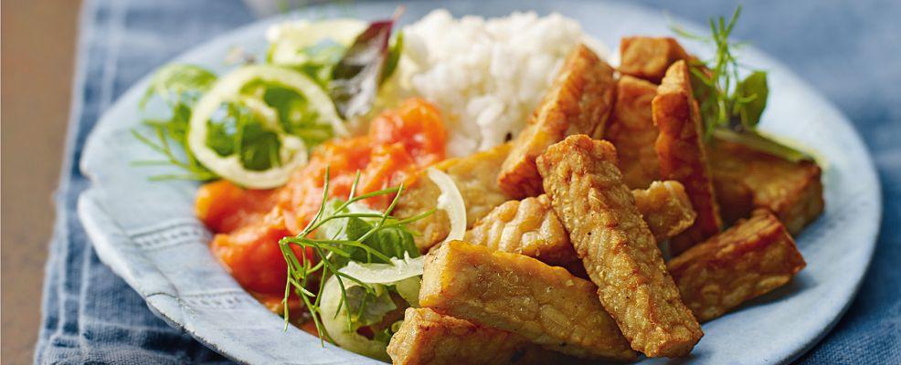 tempeh fritto alla balinese Sale&Pepe ricetta