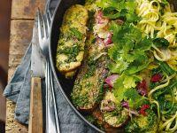 tempeh con tagliolini in salsa verde Sale&Pepe ricetta