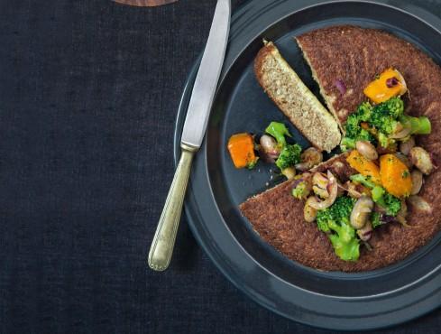 tortino dorato di amaranto e quinoa Sale&Pepe ricetta