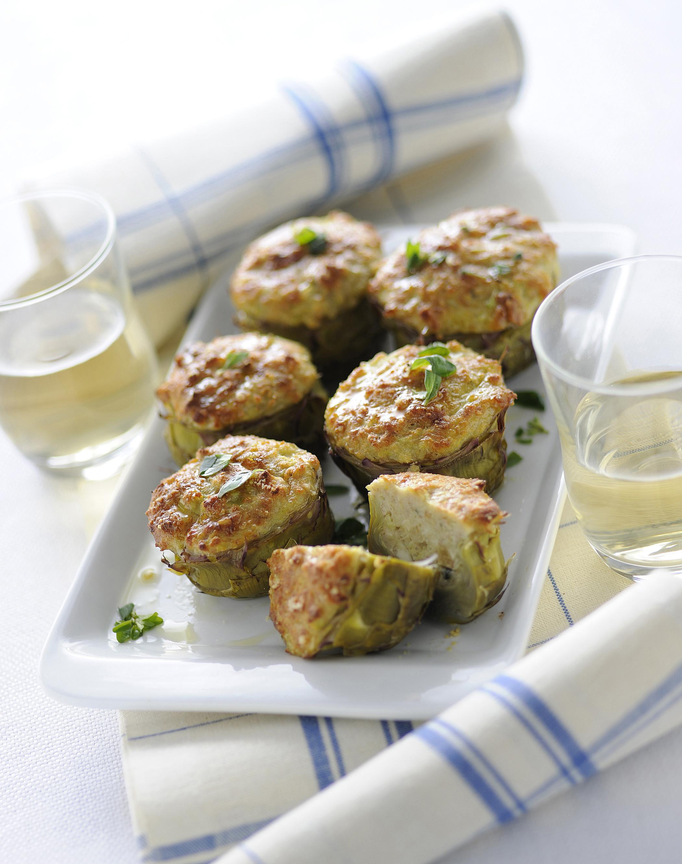 Carciofi ripieni sale pepe for Ricette con carciofi