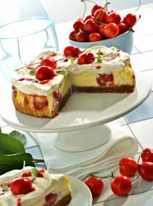 Cheesecake a base cotta