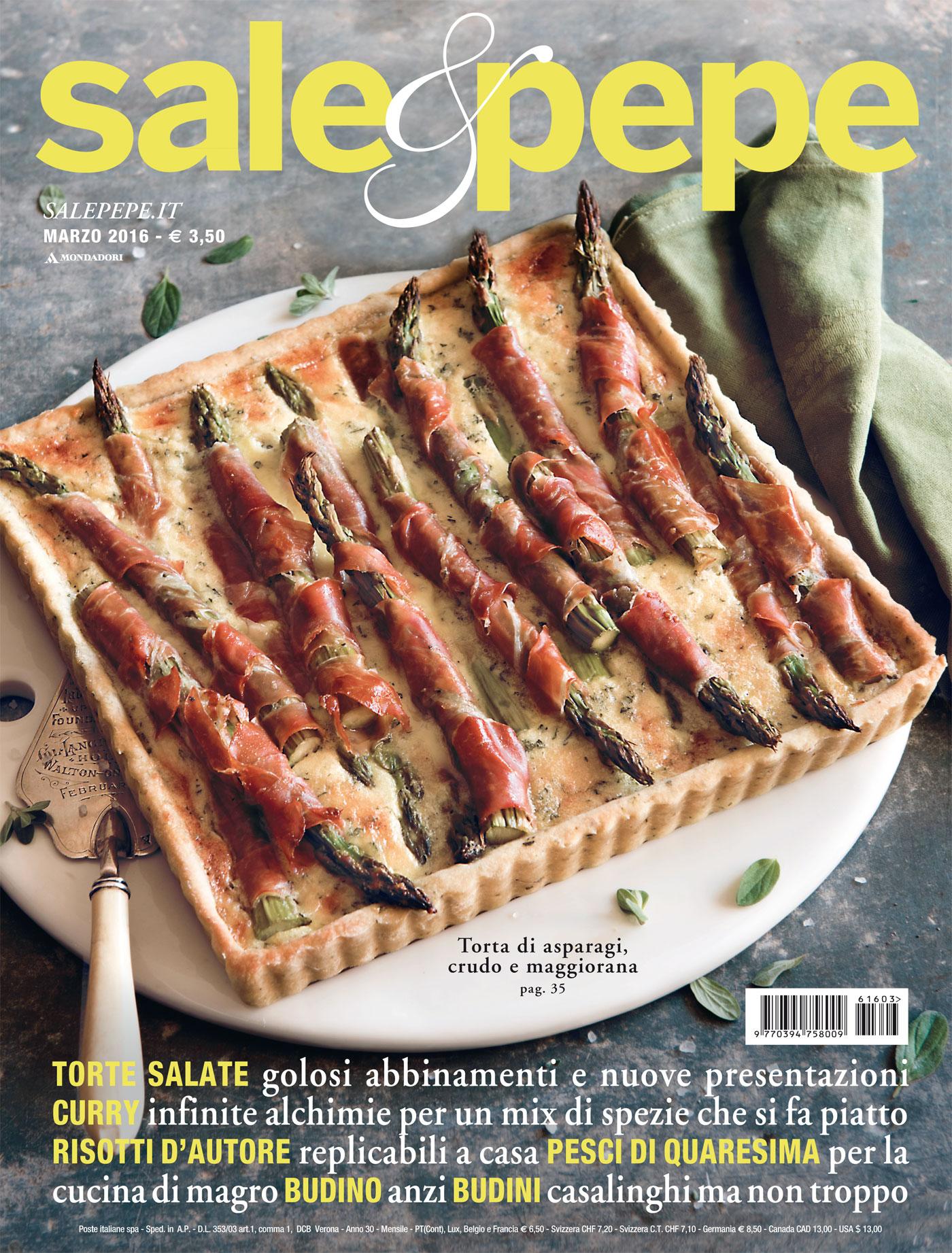 Sale&Pepe: scopri il numero di marzo 2016 - Sale&Pepe