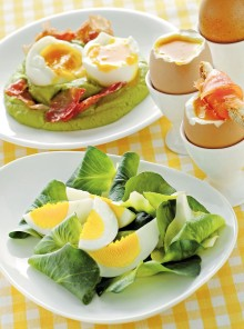Come cucinare le uova: sode, strapazzate, in camicia e alla coque
