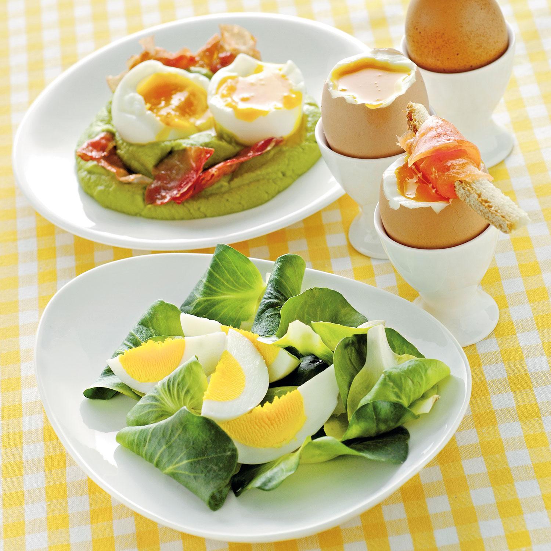 Come cucinare le uova sode strapazzate in camicia e - Cucinare le uova ...