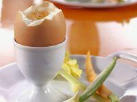 uovo alla coque con pinzimonio Sale&Pepe ricetta