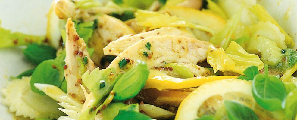 insalata di pollo e maionese Sale&Pepe ricetta