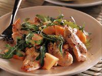 insalata di pollo e melone Sale&Pepe ricetta