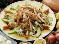 Insalata di pollo e pancetta Sale&Pepe ricetta