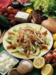 Insalata di pollo e pancetta