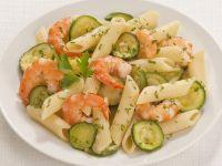 pasta zucchine e gamberetti Sale&Pepe ricetta