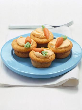 Cupcake allo yogurt e arancia