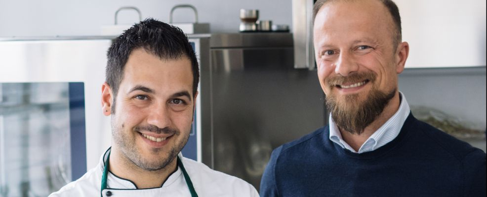Paolo Mati e Vincenzo Volpe (chef)