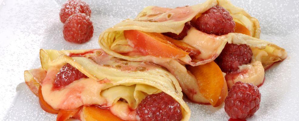 crepes lamponi albicocche ricetta Sale & Pepe