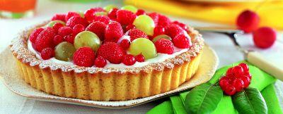 crostata di frutta alla panna ricetta