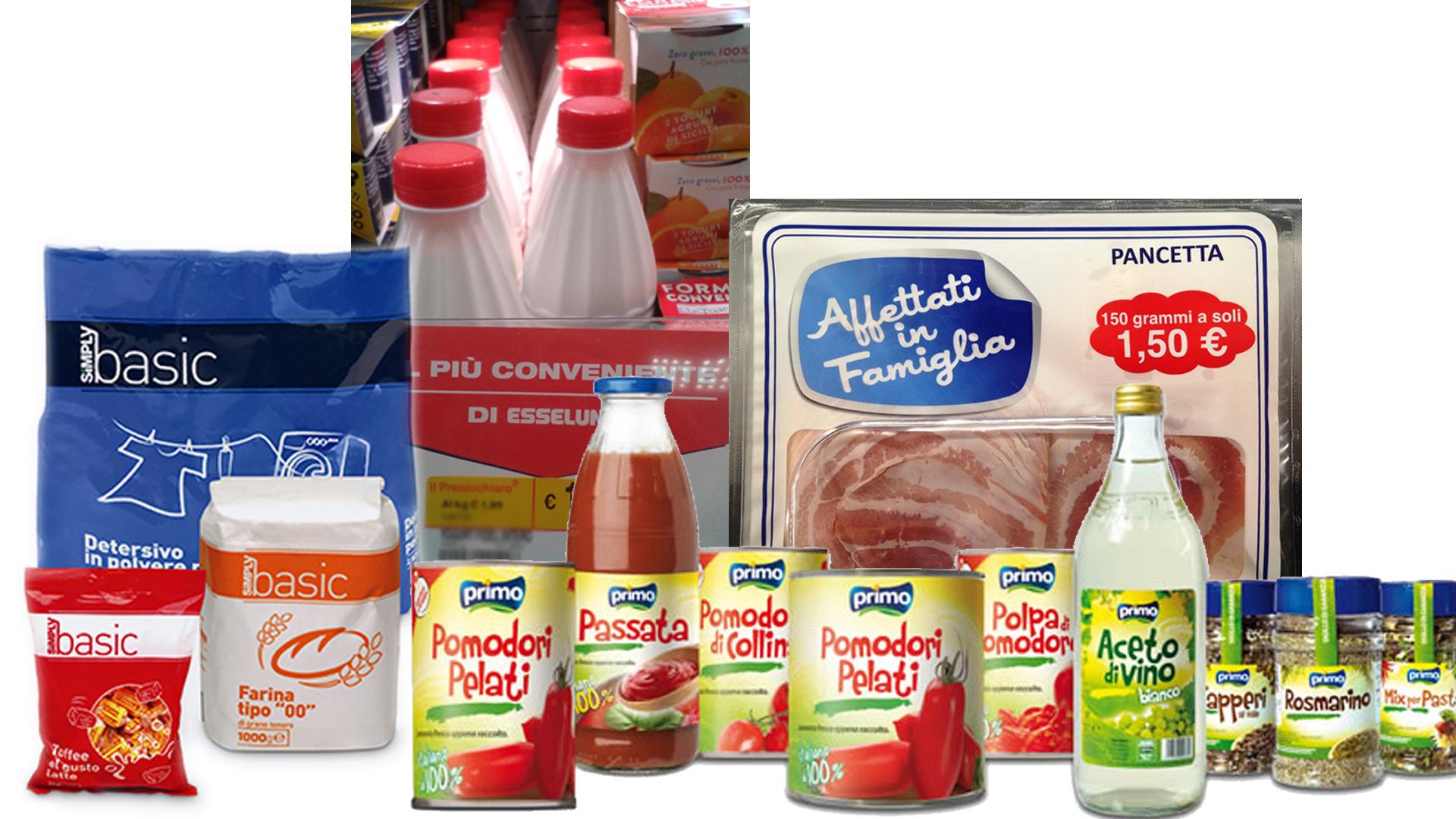come risparmiare al supermercato punta al primo prezzo