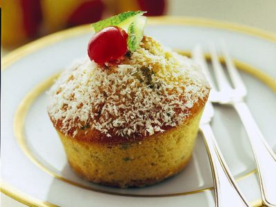 muffin-cocco-pistacchi ricetta