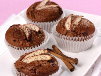 muffin-mele-cannella ricetta