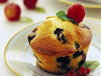 muffin panna e mirtilli ricetta Sale&Pepe
