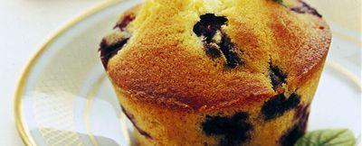 muffin-panna-e-mirtilli ricetta