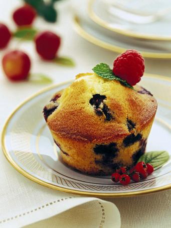 muffin panna e mirtilli ricetta Sale&Pepe