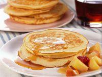 pancake con sciroppo d'acero e frutta fresca Sale&Pepe ricetta