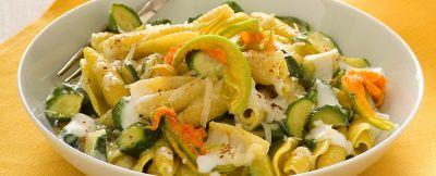 pasta-zucchine-e-fiori ricetta
