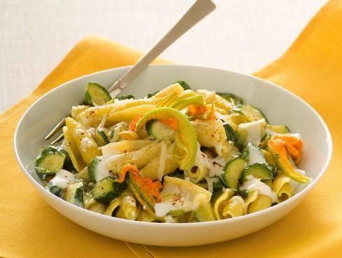 pasta-zucchine-e-fiori ricetta Sale&Pepe