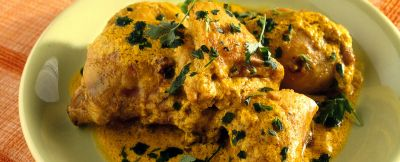 pollo curry yogurt ricetta