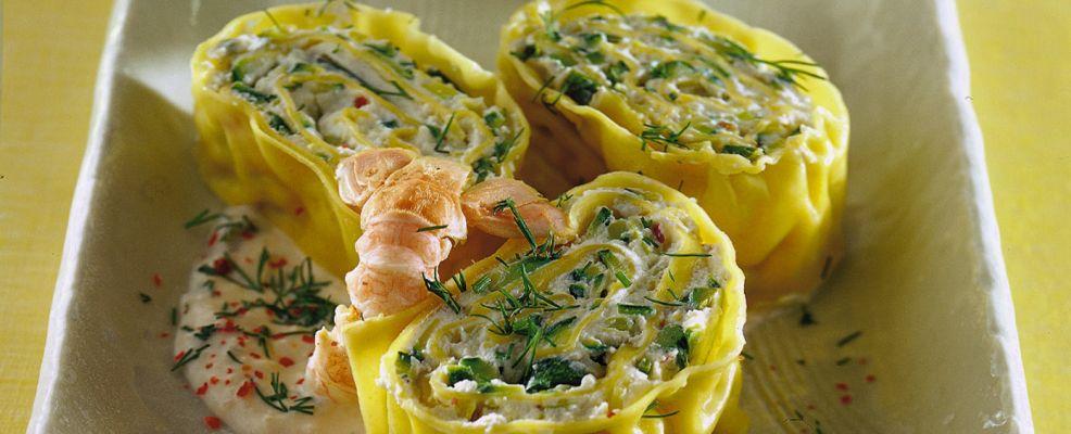 rotolo di pasta alle zucchine ricetta Sale&Pepe