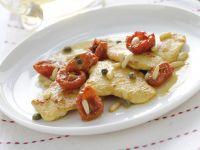 scaloppine pollo e pomodorini Sale&Pepe ricetta