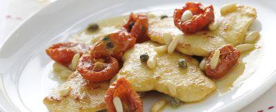 scaloppine pollo e pomodorini ricetta