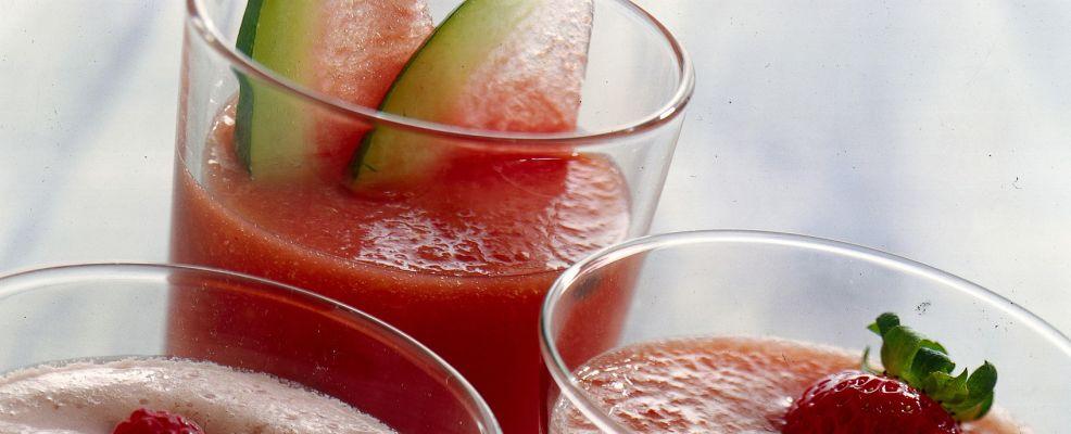 succo di anguria e pesche Sale&Pepe ricetta