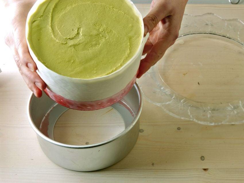 torta di gelato a pois Sale&Pepe step