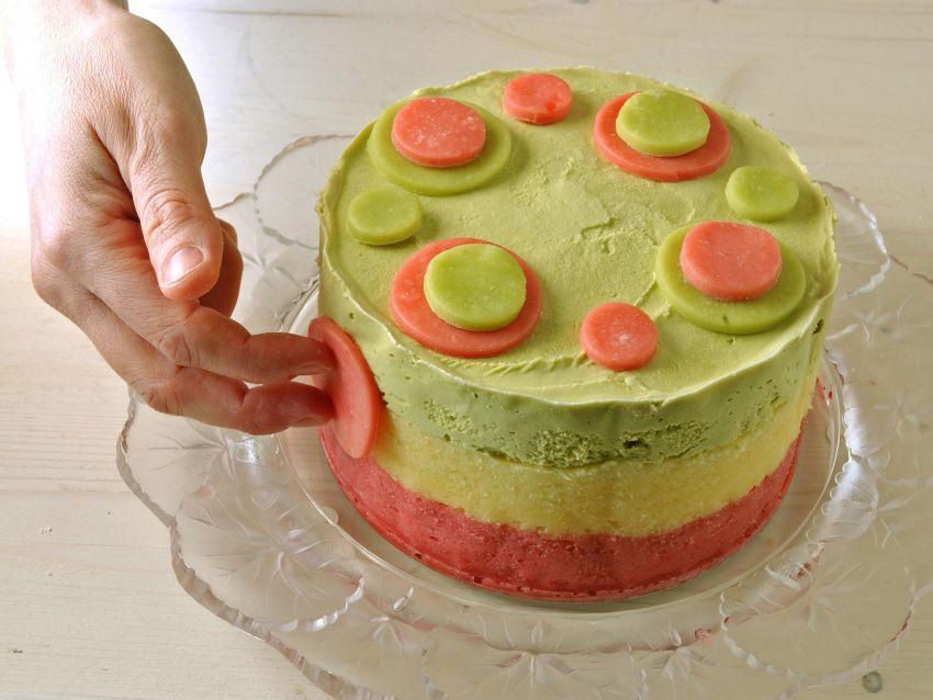 foto torta di gelato a pois Sale&Pepe