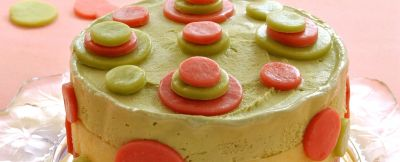 torta di gelato a pois ricetta