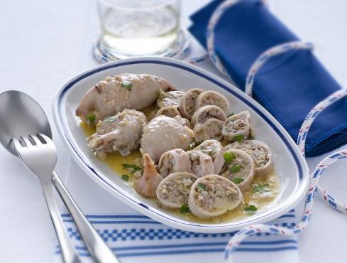 totani ripieni di olive e capperi Sale&Pepe ricetta