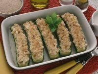 zucchine ripiene di pasta ricetta Sale & Pepe
