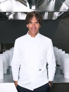 """Davide Oldani inaugura il nuovo D'O. E """"stampa"""" i piatti in 3D"""