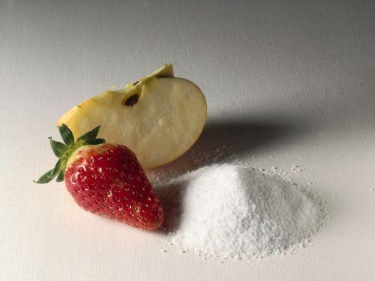 fruttosio dalla frutta