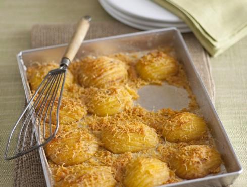 patate al forno Hasselback ricetta Sale&Pepe