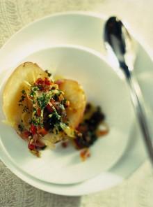 Patate al forno con peperoni