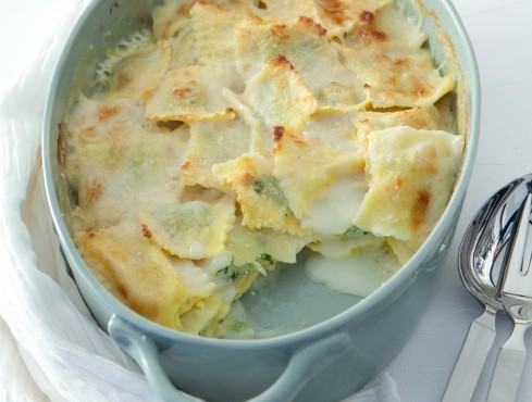 ravioli al forno profumo salvia ricetta Sale&Pepe