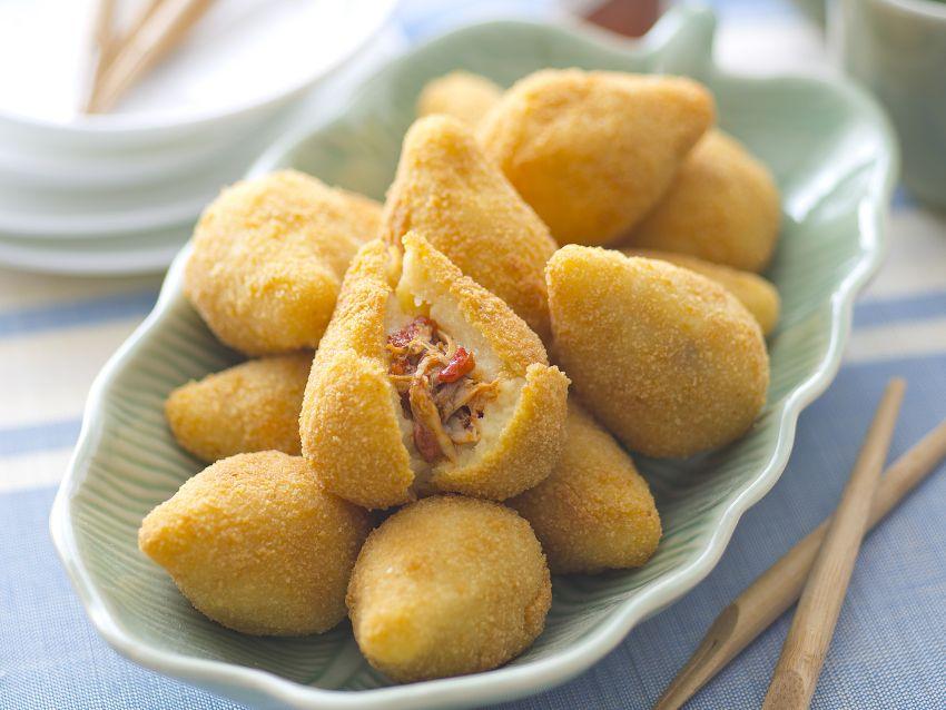 coxinhas de galinha Sale&Pepe ricetta