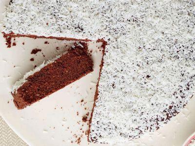 torta al cioccolato con farina di riso