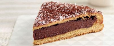 torta del nonno con farina di Kamut